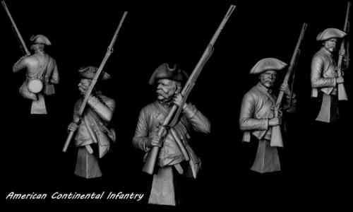 American Continental Infantry 1778