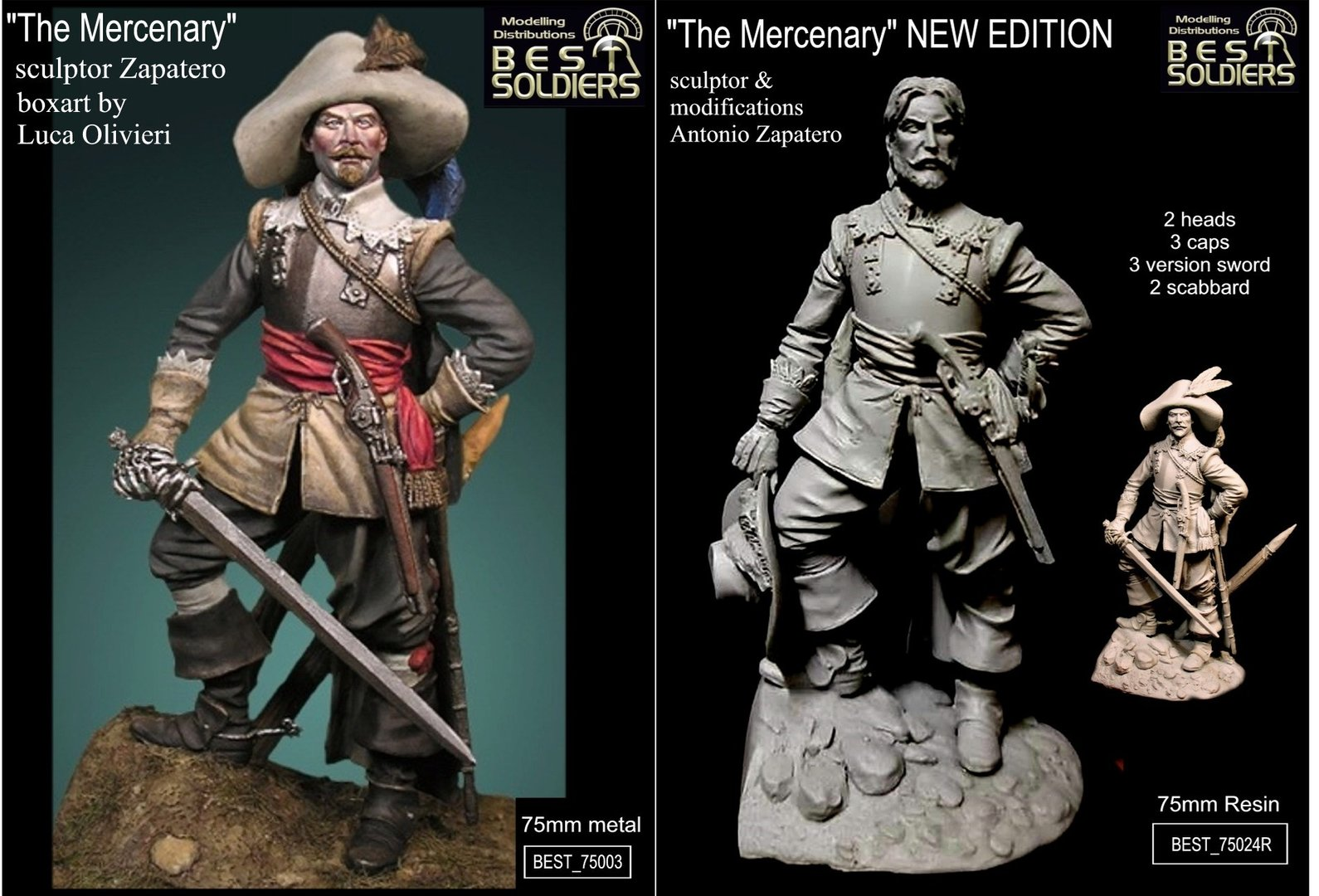 The Mercenary  2 version (75003-75024)  _2 version