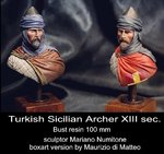 Turkish Sicilian Archer XIII sec.