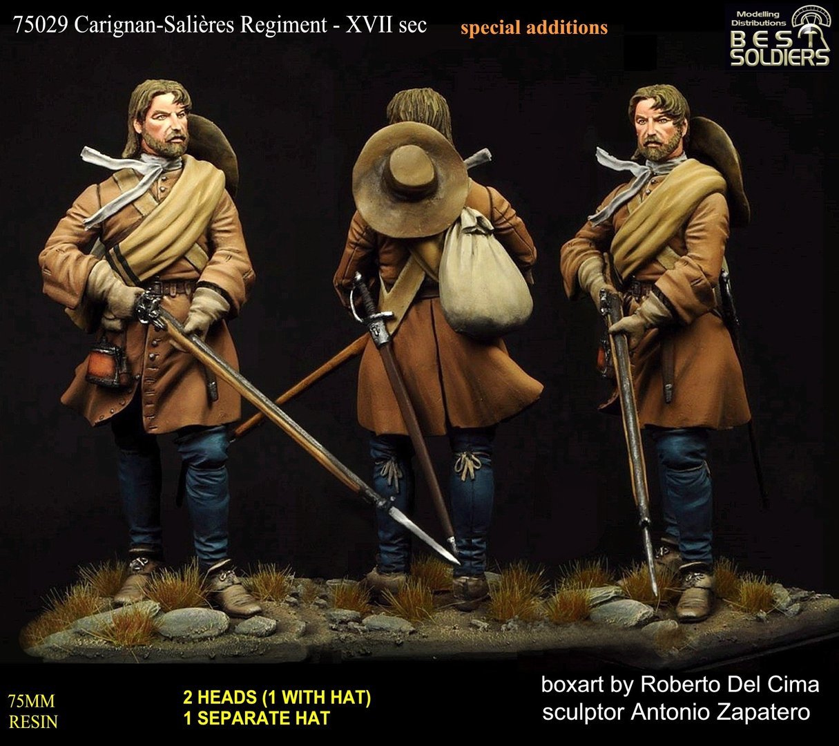 2° Version Carignan-Salières Regiment - XVII _(75029/75012)