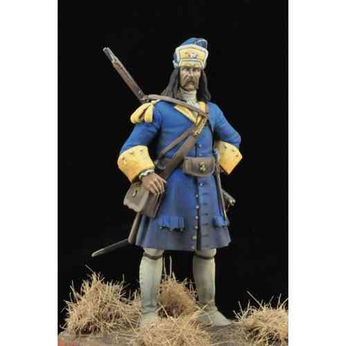 Santa Eulalia's Rergiment Grenadier. War of the Spanish Succession, Barcelona 1714