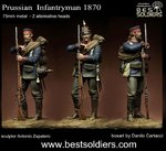 Prussian Infantryman 1870_2 version