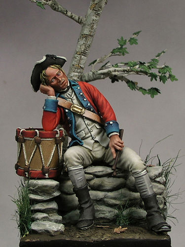 Continental Army drummer.