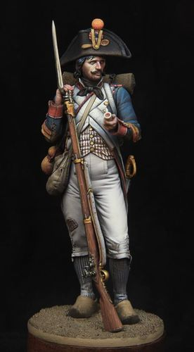 Napoleonic French Revolutionary Soldier 1796-1805