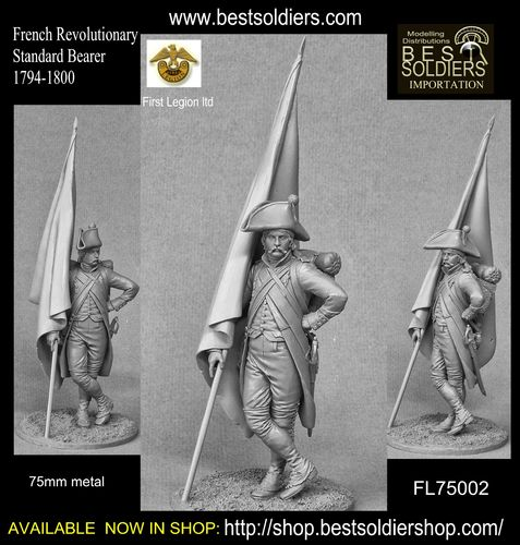 French Revolutionary Standard Bearer 1794-1800