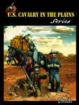 US cavalry in the plains set 1