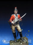 17th British Light Dragoon Trooper, Long Island, 1775