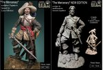 The Mercenary NEW EDITION 2 VERSION ( 75003-75024) RESIN