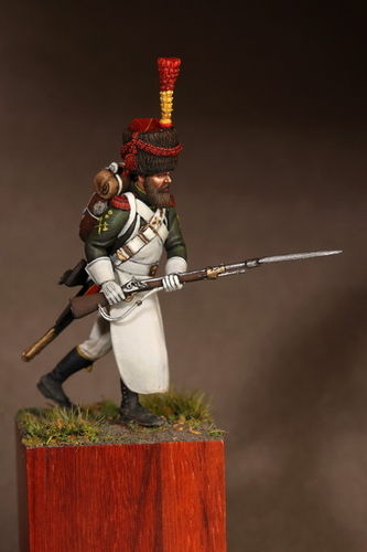 Sapper flanqueur-grenadiers of the Guard 1812.