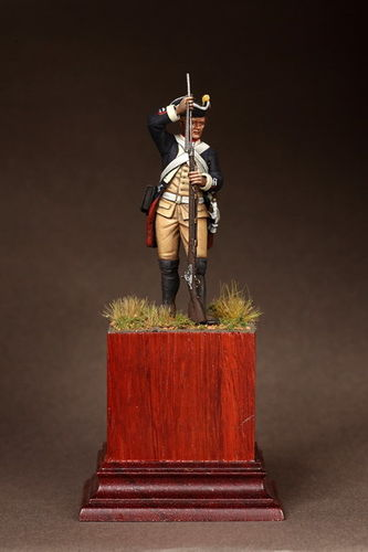 Prussian Musketeer von Itzenplitz Regiment. 1756-1763