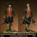 Continental Navy Captain American War of Indipendence