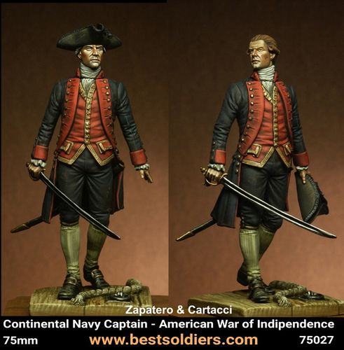 Continental Navy Captain American War of Indipendence_2 version(