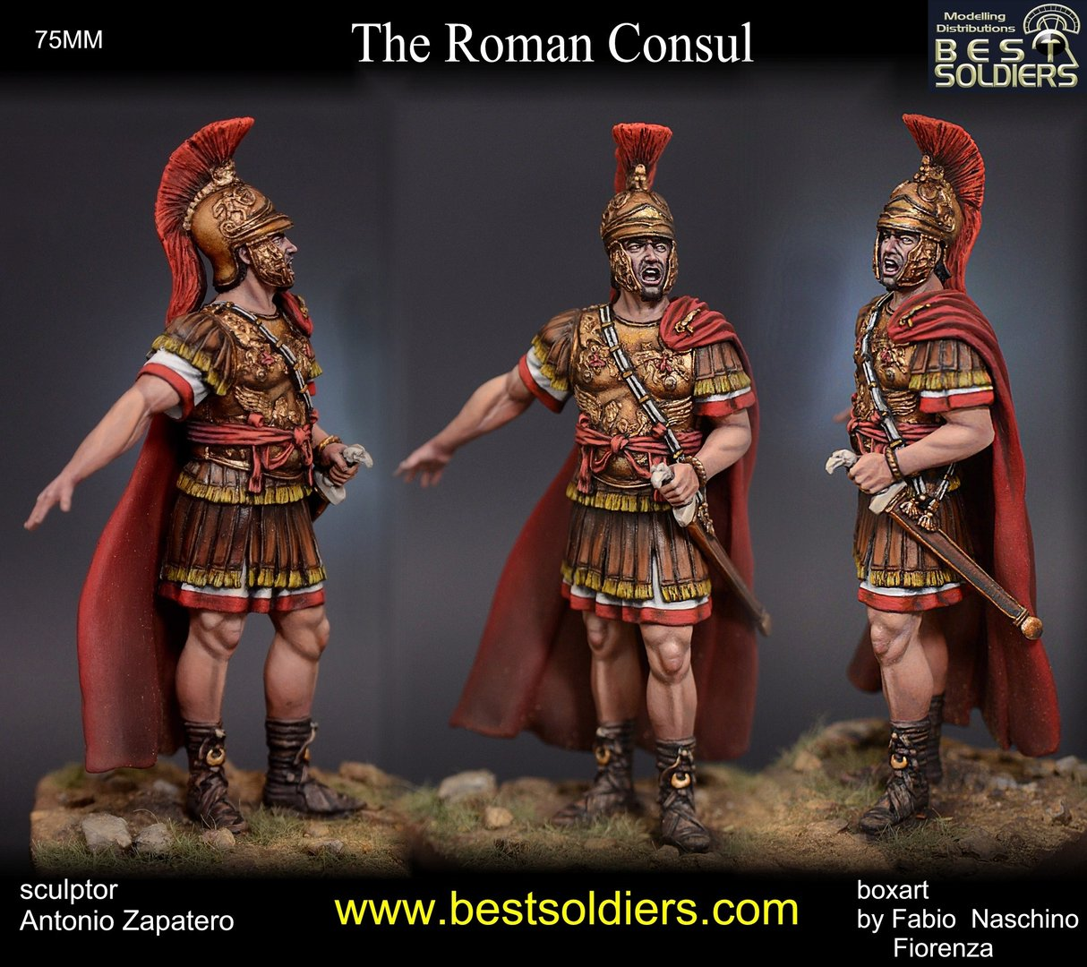 Roman Consul III bC (enclose version 75031)