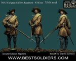 Carignan-Salières Regiment - XVII _2 version(75029/75012)
