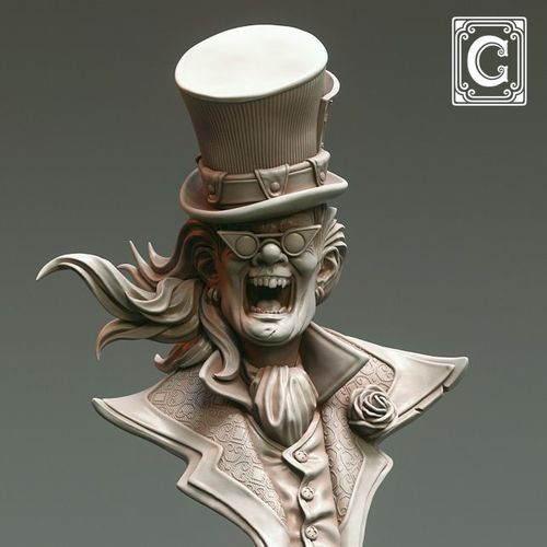 Mad Hatter - Bust